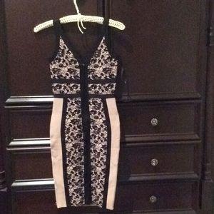 Eva Longoria Dresses - Eva Longoria body con dress